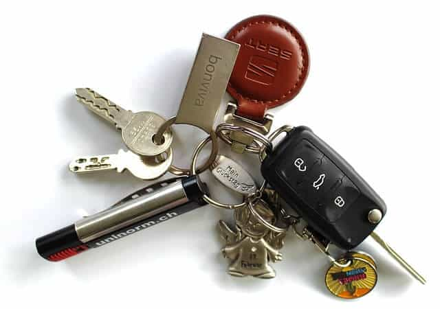 Image of car keys